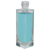 30mL Clear Tall Rectangular Glass Bottle with 18/415 Neck (Cap Sold Separately)