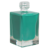 30mL Clear Square Glass Bottle with 18/415 Neck (Cap Sold Separately)