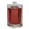 100mL Clear Square Glass Perfume Bottle with 15mm Neck - Case of 90 (Cap Sold Separately)