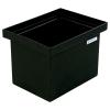 """6 Gallon Black Polyethylene Tank - 14"""" L x 10"""" W x 10"""" H"""