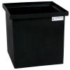 """26 Gallon Black Polyethylene Tamco® Tank - 18"""" L x 18"""" W x 18"""" Hgt."""