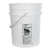 Premium White 5 Gallon Bucket