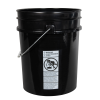 Premium Black 5 Gallon Bucket