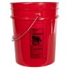 Premium Red 5 Gallon Bucket