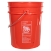 Premium Orange 5 Gallon Bucket