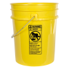 Premium Yellow 5 Gallon Bucket