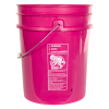 Premium Pink 5 Gallon Bucket