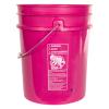 Premium Pink 5 Gallon Bucket