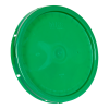 Green Solid Tear Tab Bucket Lid