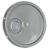Silver Pour Spout Bucket Lid