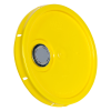 Yellow Pour Spout Bucket Lid