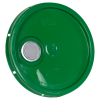 Green Pour Spout Bucket Lid