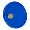 Blue Pour Spout Bucket Lid