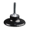 "3"" Dia. x 1/4"" Turn-On (Type S) Rubber Holder Pad"