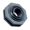 "1"" SF Series Self-Aligning PVC Tank Adapter - 3.25"" Hole Size"