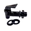 "Black HFSLT Faucet 3/4""-16 UNF 1"" Long"
