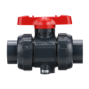 "4"" Threaded PVDF True Union Ball Valve with FKM O-rings"