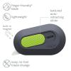 Gray/Green Auto-Retractable Slice® Mini Cutter