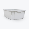 Large Gray Replacement Bin for Luxor Mobile Bin Storage Unit