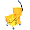 35 qt. Yellow Flo-Pac® Mop Bucket with Side Press Wringer