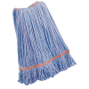 Large Blue Polyester Blend Looped-End Libman® Wet Mop Head