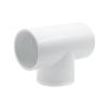 "3"" Schedule 40 White PVC Socket Tee"
