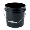Black 2 Gallon Bucket & Lid