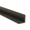 "2"" x 2"" x 1/4"" Gray PVC-1 Extruded Angle"