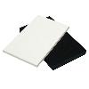 "1/4"" x 12"" x 12"" Polar White Seaboard® UV Stabilized HDPE Sheet"