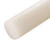 "1/8"" Diameter Natural Nylon 101 Rod"