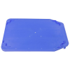 "Blue Cover for 23.7""L x 15.8""W Stack & Nest Container"
