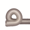 """2"""" I.D. UFD.020 Clear Thermo Polyurethane Flexible Duct"""