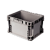 """Gray Reusable Container - 48"""" L x 22-1/2"""" W x 7-1/4"""" Hgt."""