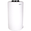 """75 Gallon Tamco® Vertical Natural PE Tank with 12-1/2"""" Lid & 2"""" Fitting - 24"""" Dia. x 45"""" High"""
