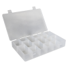 "Infinite Divider System™ w/10 Dividers/6 Compartments -  11"" L x 6-3/4"" W x 1-3/4"" Hgt."