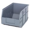"12"" L x 8-1/4"" W x 7"" Hgt. Quantum® Gray  Stackable Shelf Bin"