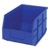"12"" L x 8-1/4"" W x 7"" Hgt. Quantum® Blue  Stackable Shelf Bin"