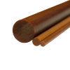 "1/4"" Grade XXX Phenolic Rod"