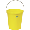 Vikan® Polypropylene Yellow 3 Gallon Pail