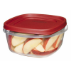 "Rubbermaid® Easy Find Lid 5 Cup Container - 7"" L x 7"" W x 3.3"" H"