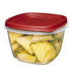"Rubbermaid® Easy Find Lid 7 Cup Container - 7"" L x 7"" W x 4.6"" H"