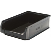 "Black Quantum® Magnum Recycled Heavy Duty Stack Bin - 19-3/4"" L x 12-3/8"" W x 5-7/8"" Hgt."