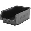 "Black Quantum® Magnum Recycled Heavy Duty Stack Bin - 19-3/4"" L x 12-3/8"" W x 7-7/8"" Hgt."