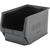 "Black Quantum® Magnum Recycled Heavy Duty Stack Bin - 19-3/4"" L x 12-3/8"" W x 11-7/8"" Hgt."