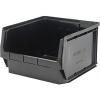 "Black Quantum® Magnum Recycled Heavy Duty Stack Bin - 19-3/4"" L x 18-3/8"" W x 11-7/8"" Hgt."