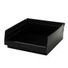 "Black Quantum® High Recycled Shelf Bin - 11-5/8"" L x 11-1/8"" W x 4"" Hgt."