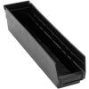 "Black Quantum® High Recycled Shelf Bin - 17-7/8"" L x 4-1/8"" W x 4"" Hgt."
