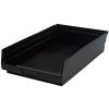 "Black Quantum® High Recycled Shelf Bin - 17-7/8"" L x 11-1/8"" W x 4"" Hgt."