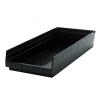 "Black Quantum® High Recycled Shelf Bin - 23-5/8"" L x 11-1/8"" W x 4"" Hgt."