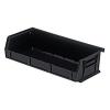 """Black Quantum® Ultra Series Recycled Stack & Hang Bin - 5"""" L x 11"""" W x 3"""" Hgt."""